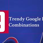9 Trendy Google Font Combinations
