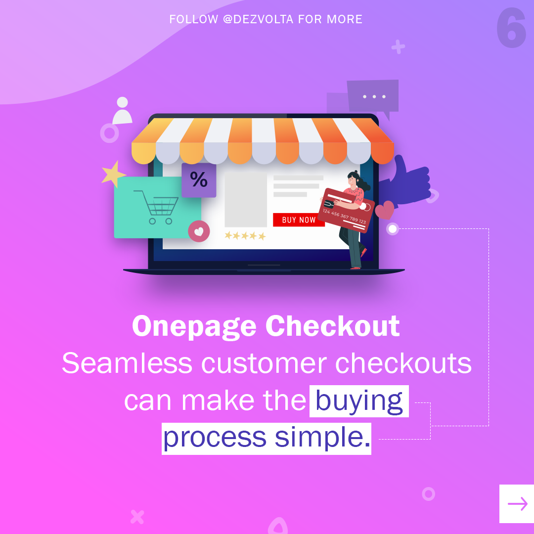 OnePage Checkout is a must have in any eCommerce website