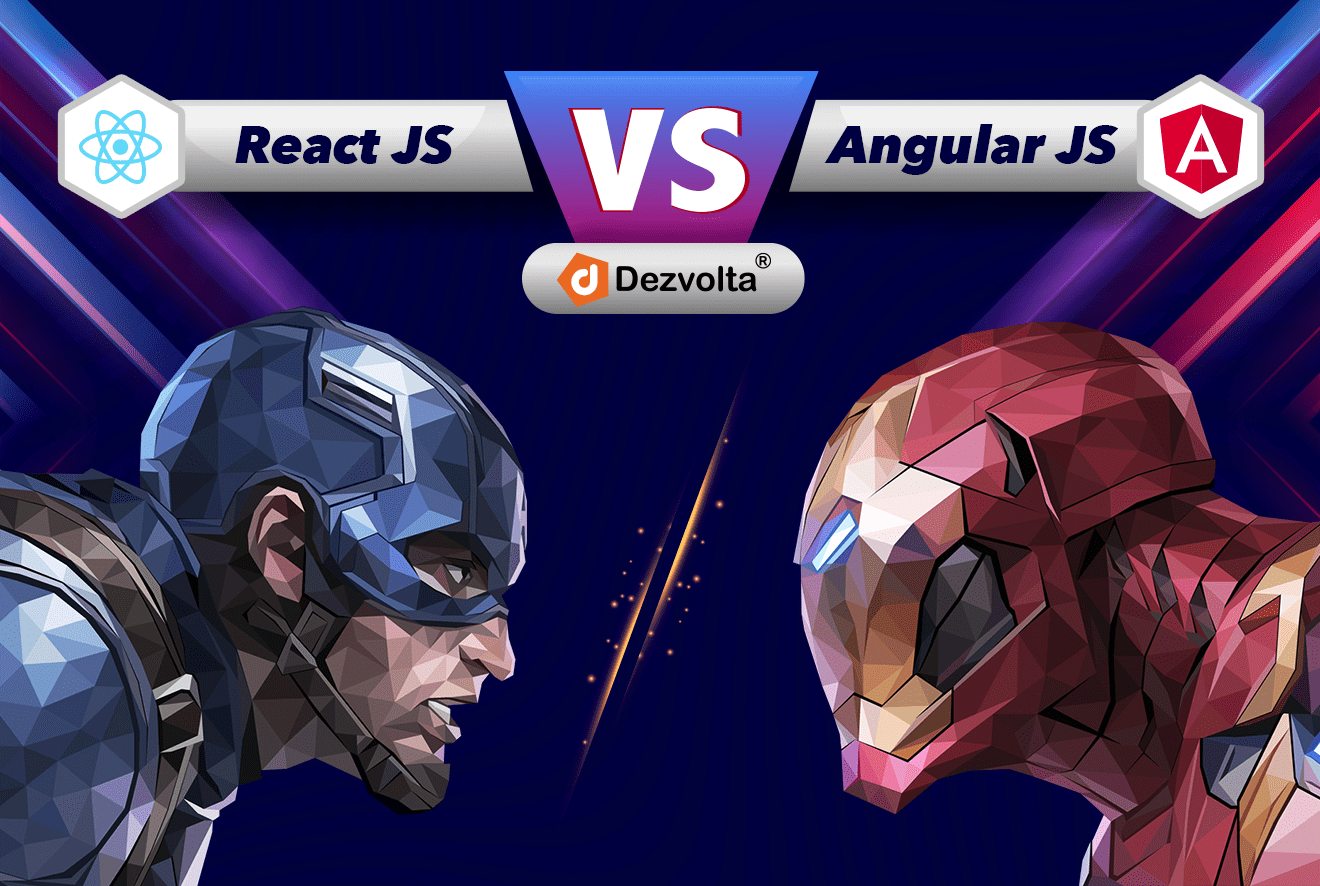 AngularJS vs ReactJS - Detailed comparison of the best frontend Javascript development