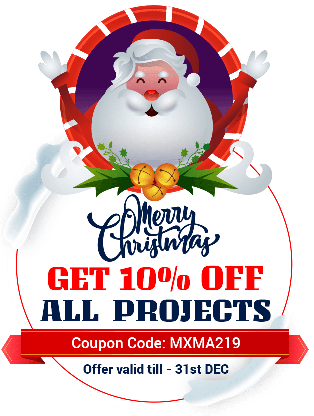 get 10% off for all projects